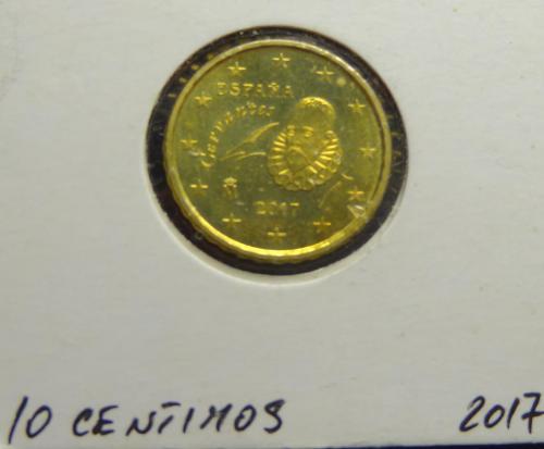 10 євроцентів 2017 Іспанія