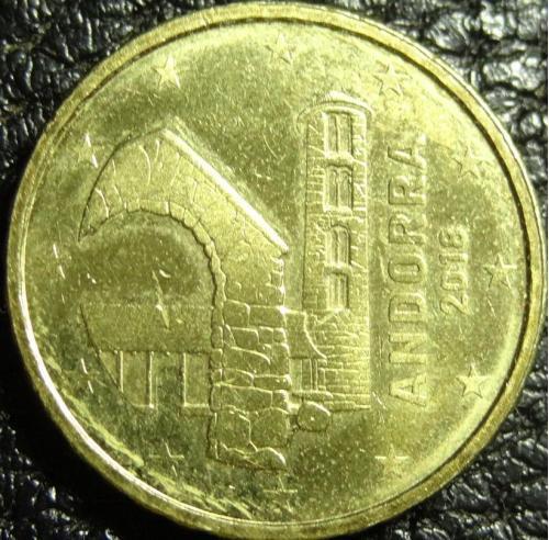 10 євроцентів 2018 Андорра рідкісна