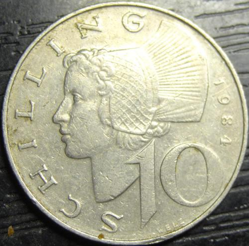 10 шилінгів 1984 Австрія