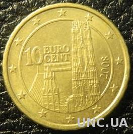 10 євроцентів 2008 Австрія