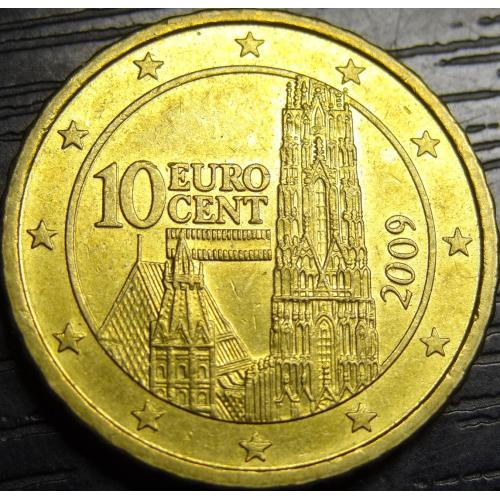 10 євроцентів 2009 Австрія