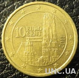 10 євроцентів 2011 Австрія