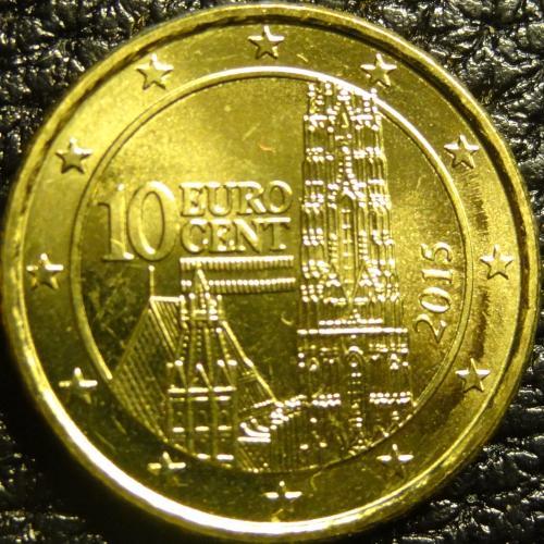 10 євроцентів 2015 Австрія UNC