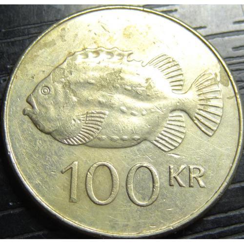 100 крон Ісландія 2011