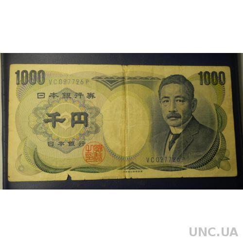 1000 йен Японія 1984