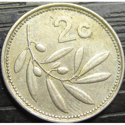 2 цента 2002 Мальта