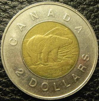 2 долара 1996 Канада