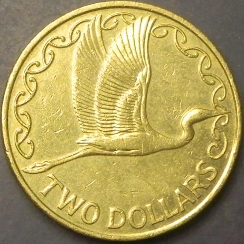 2 долара 2008 Нова Зеландія