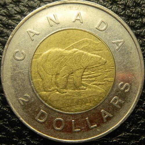2 долара 2009 Канада
