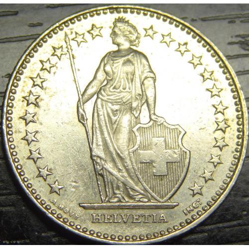 2 франка 2008 Швейцарія
