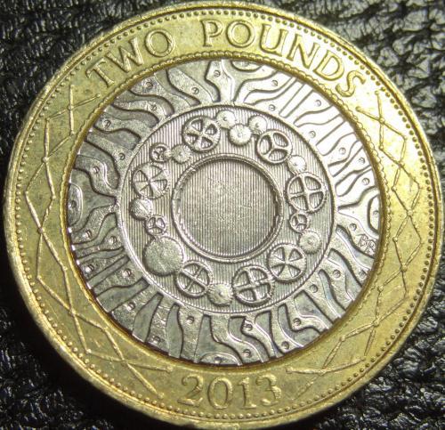 2 фунта 2013 Британія