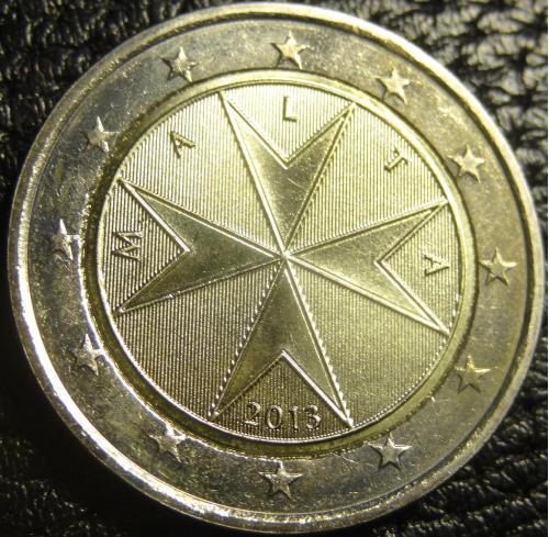 2 євро 2013 Мальта UNС