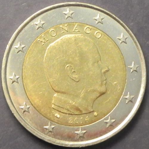 2 євро 2014 Монако рідкісна