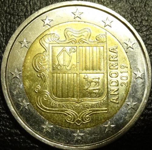 2 євро Андорра 2019