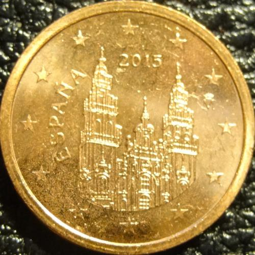 2 євроценти 2015 Іспанія UNC