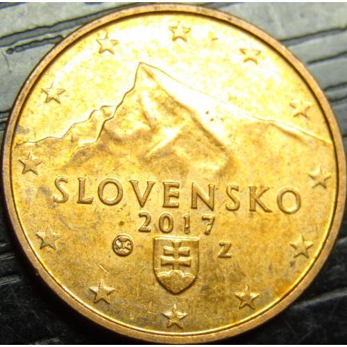 2 євроцента 2017 Словаччина