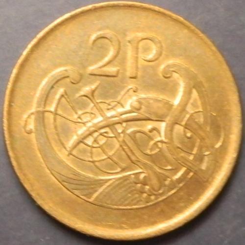 2 пенси 1992 Ірландія