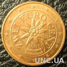 2 євроценти 2005 Австрія