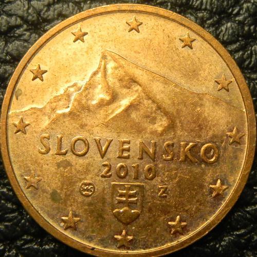 2 євроцента 2010 Словаччина