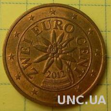 2 євроценти 2012 Австрія