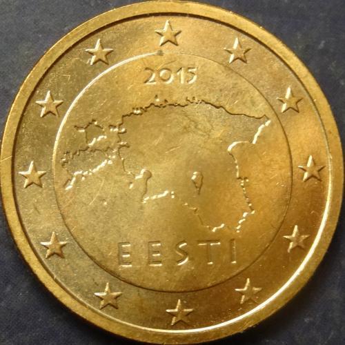 2 євроценти 2015 Естонія UNC