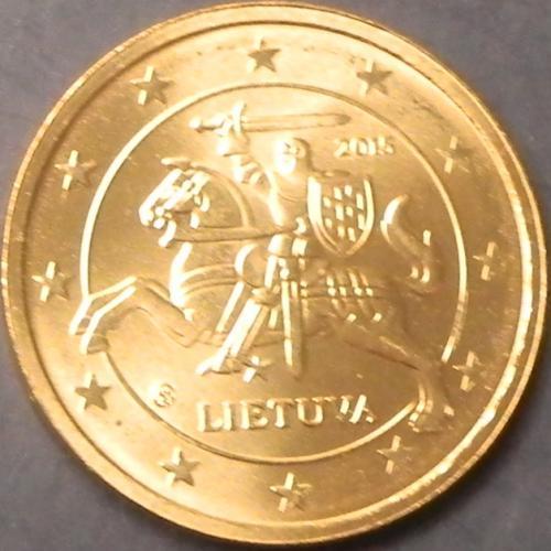 2 євроценти 2015 Литва UNC