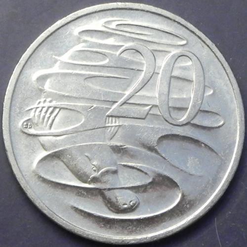 20 центів 2014 Австралія