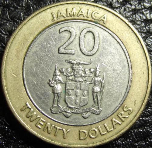 20 доларів 2001 Ямайка