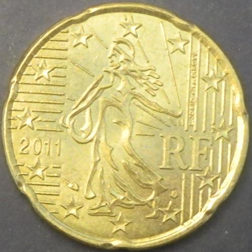 20 євроцентів 2011 Франція