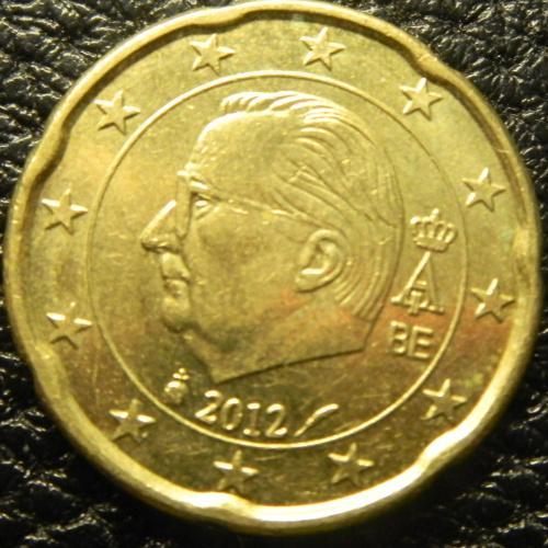 20 євроцентів 2012 Бельгія