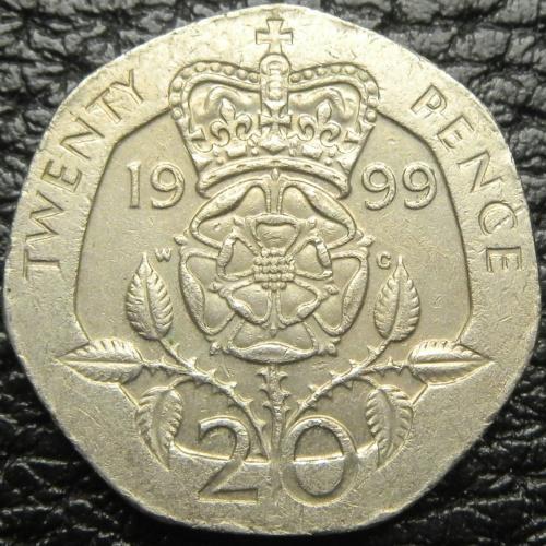 20 пенсів 1999 Британія