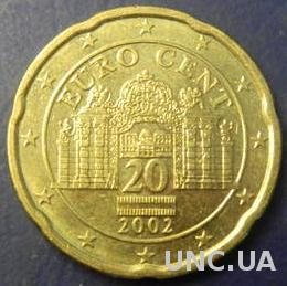 20 євроцентів 2002 Австрія