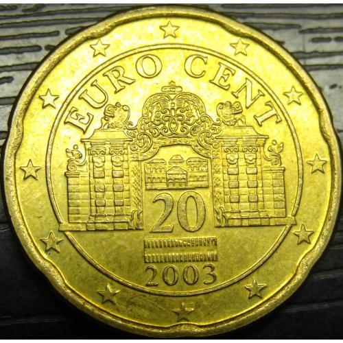 20 євроцентів 2003 Австрія