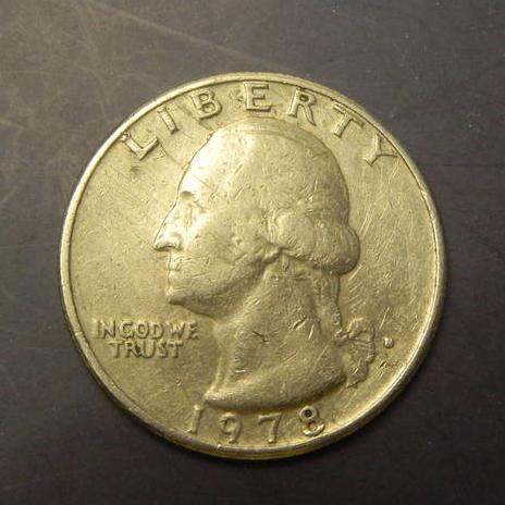 25 центів 1978 D США нечаста