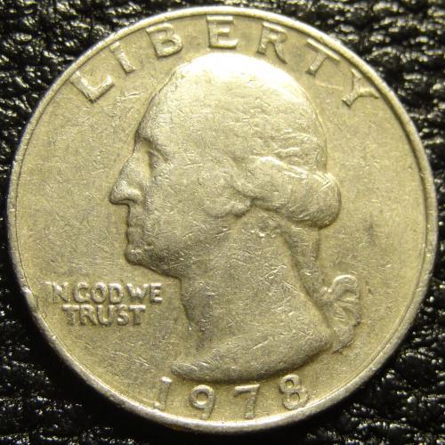 25 центів 1978 США