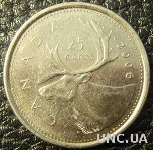 25 центів 2006 P Канада