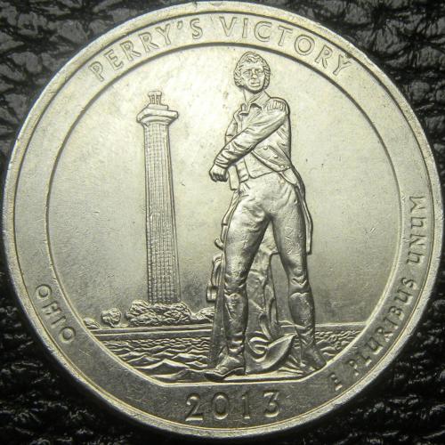 25 центів 2013 P США Перемога Перрі