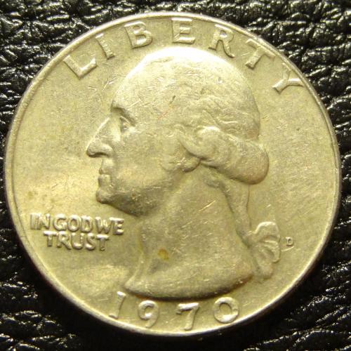 25 центів 1970 D США