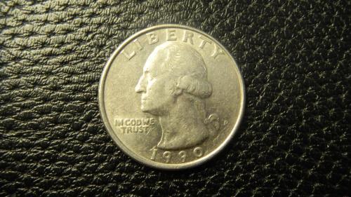 25 центів 1990 P США