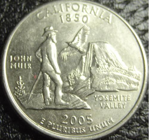 25 центів 2005 D США Каліфонія