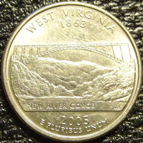 25 центів 2005 P США Західна Вірджинія