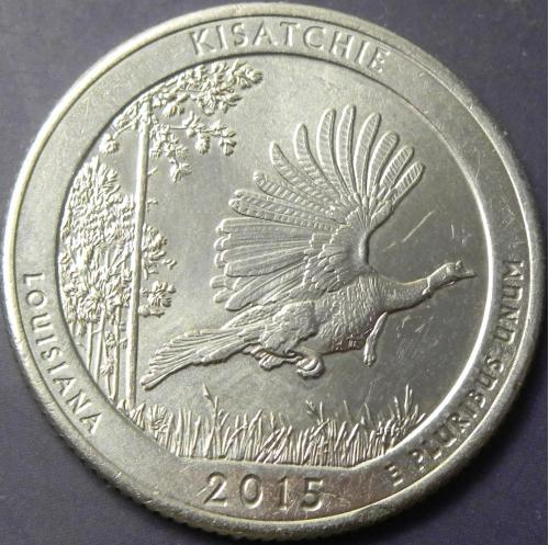25 центів 2015 D США Кісатчі