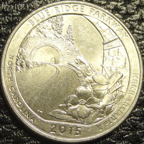 25 центів 2015 P США Блу Рідж