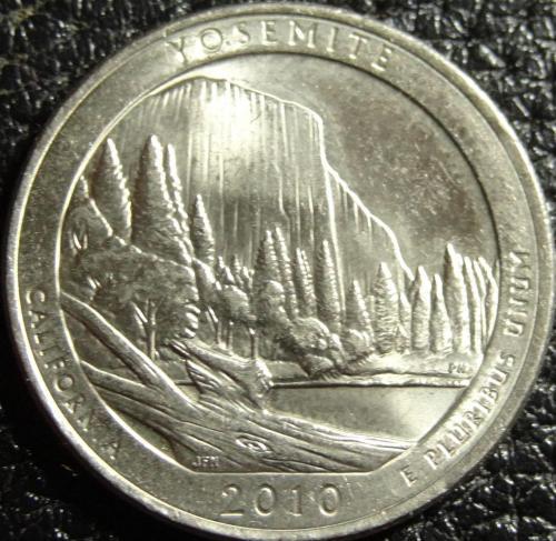 25 центів США 2010 D Йосеміті
