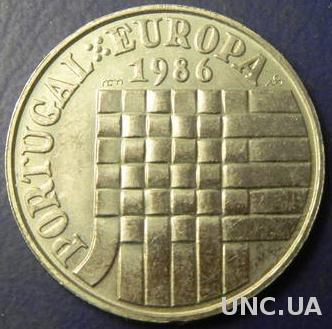 25 ескудо 1986 Португалія Європейський економічний союз