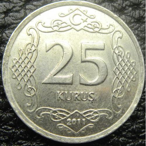 25 курушів 2011 Туреччина