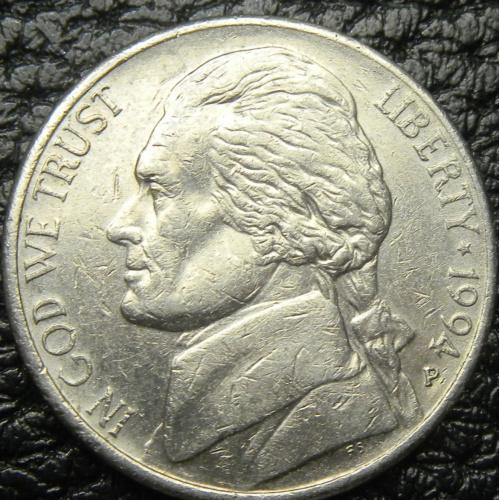 5 центів 1994 P США