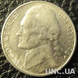 5 центів 1996 P США