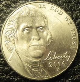 5 центів 2014 P США