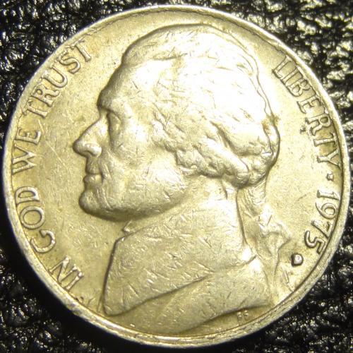 5 центів 1975 D США